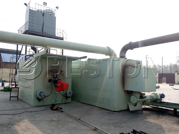 Beston Continuous Tire Pyrolysis Plant