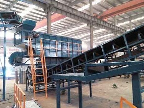 high quality solid waste sorting plant