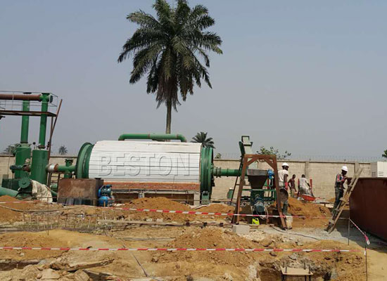 pyrolysis system for waste
