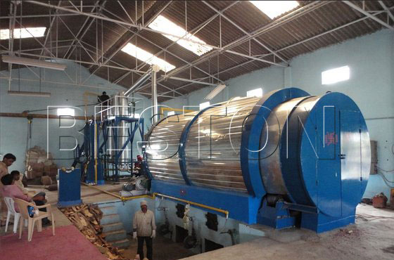plastic waste pyrolysis plant