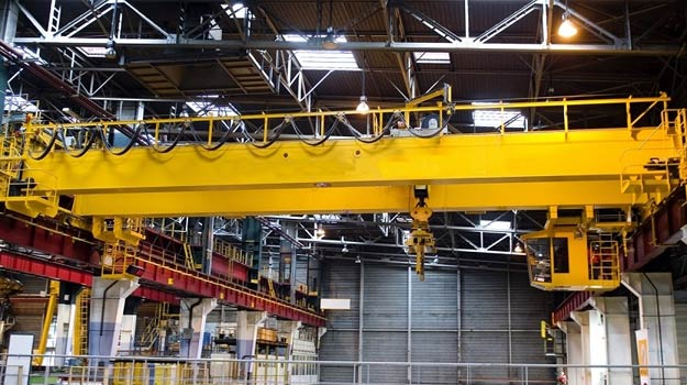 Quality overhead cranes supplied by Ellsen