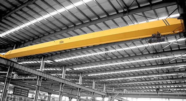 Workshop overhead crane with high quality
