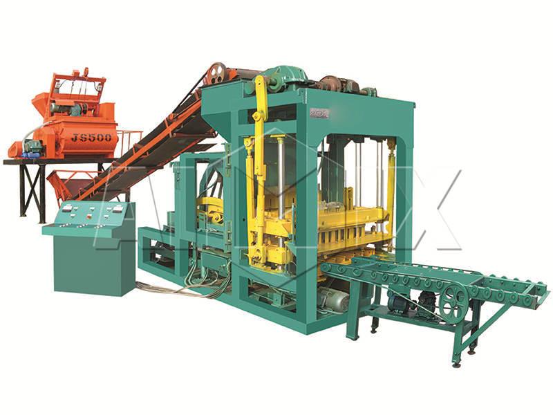 brick manufacturing machine