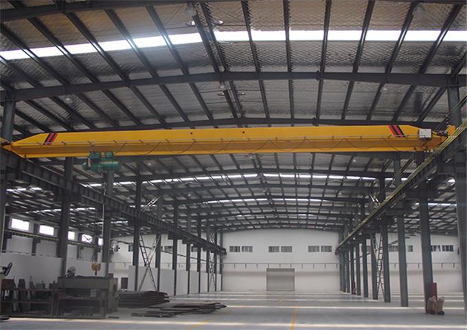 Supply single girder overhead crane for sale