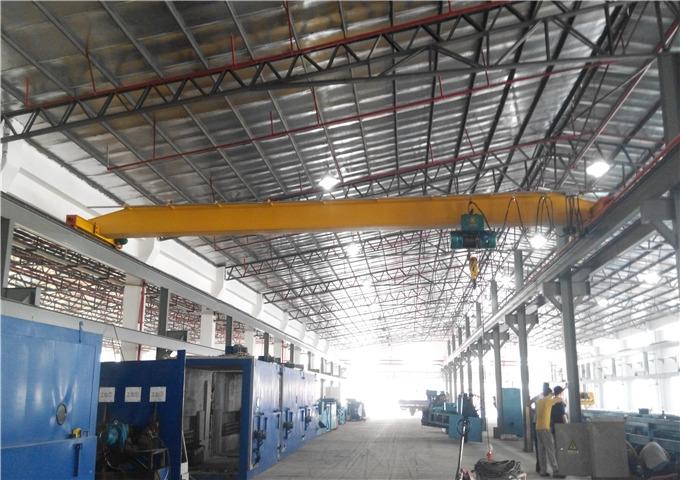 Single girder overhead crane for sale